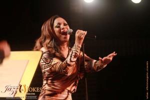 Songstress CHANTE MOORE sings